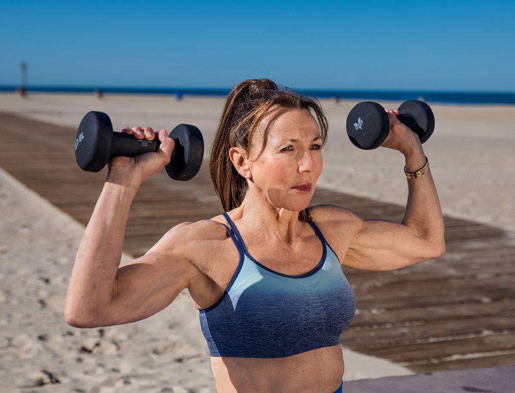 SHOULDERS seated shoulder press - shoulder exercises