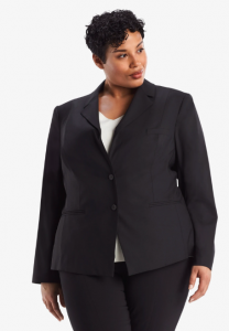 Fitted Jacket and suit wear for curvy women at MM LaFleur