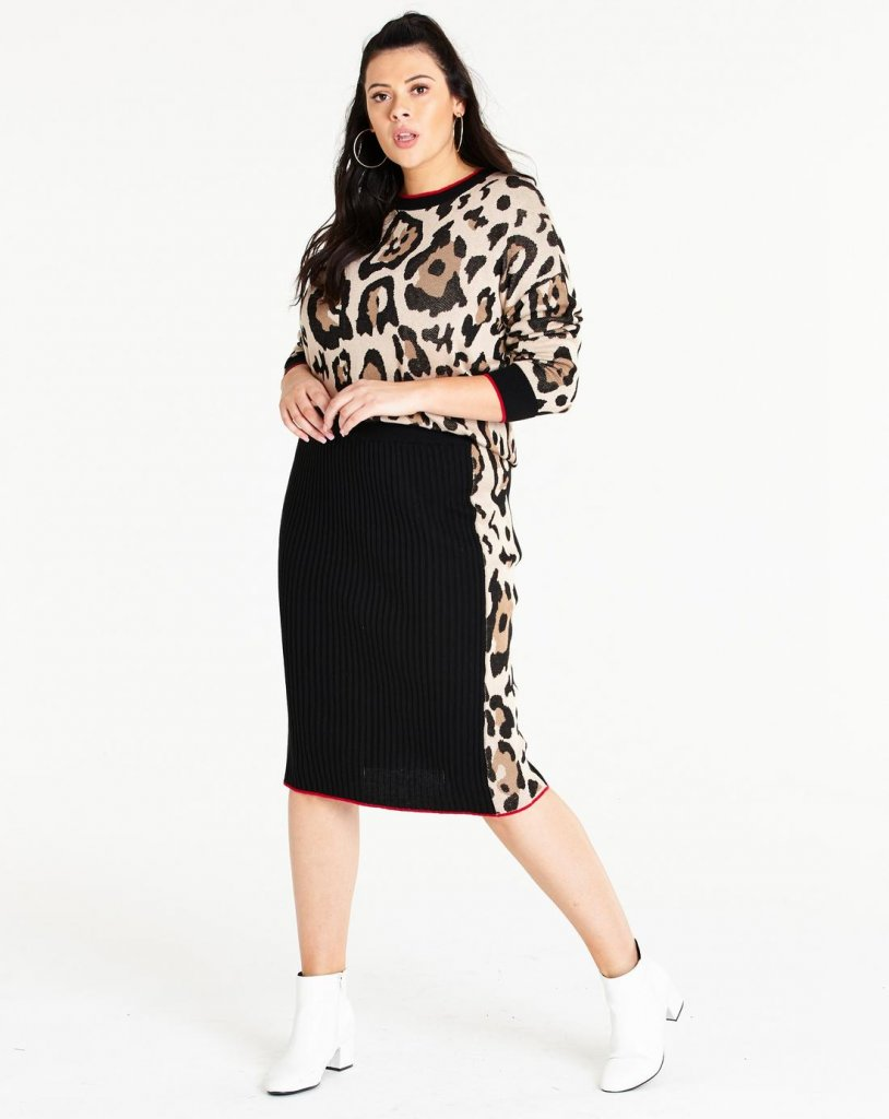 Simply Be Leopard Outfit