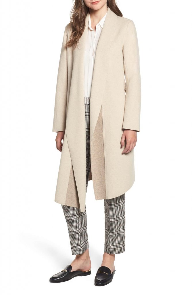 Sosken Gloria Brushed Knit Coat