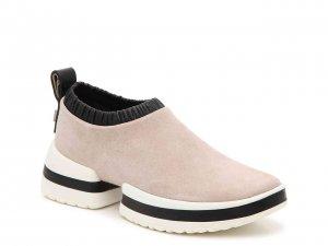 Stuart Weitzman Platform Slip On Sneaker