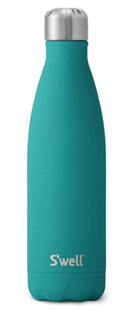 S'well Vacuum Insulated Stainless Steel Water Bottle, 17oz, Jade