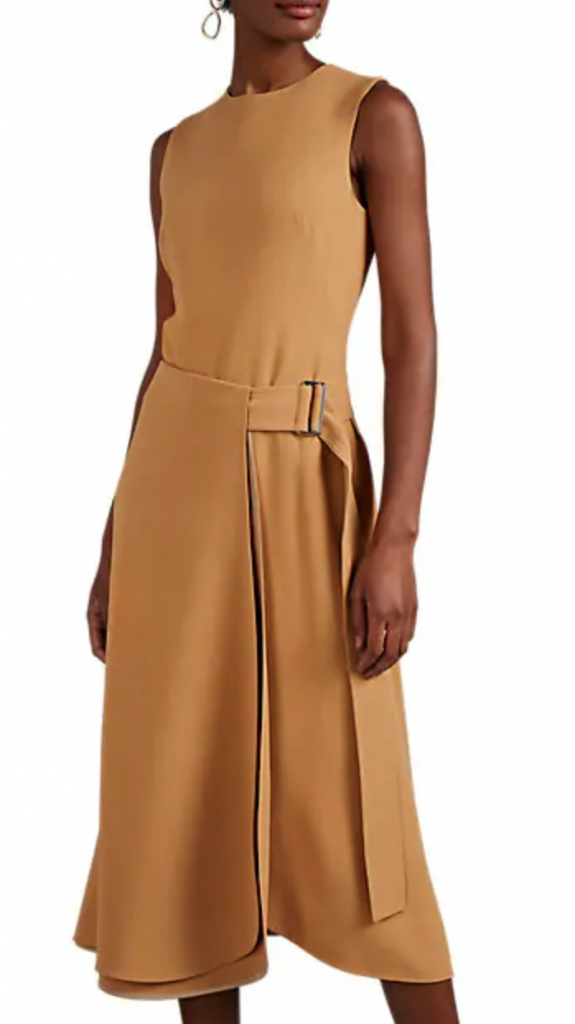 Victoria Beckham Flared Midi-Dress