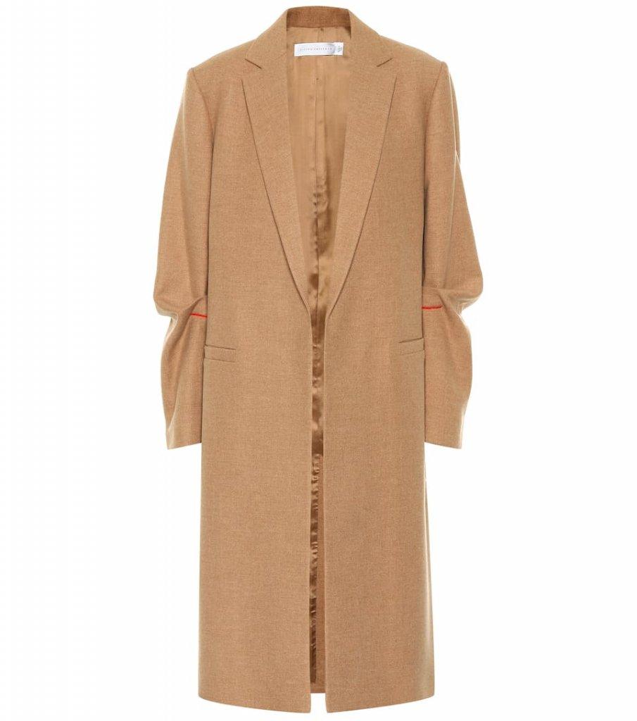 Victoria Beckham Virgin Wool Coat