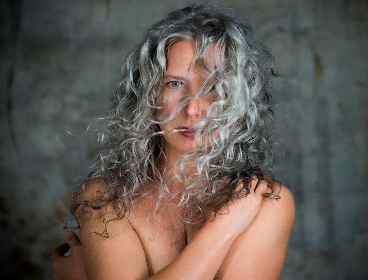 Amanda Ball beautiful gray hair