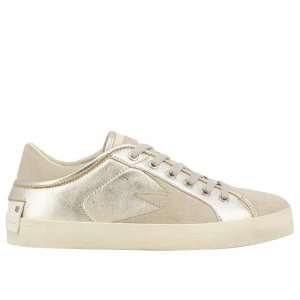 metallic sneakers by crime london at giglio