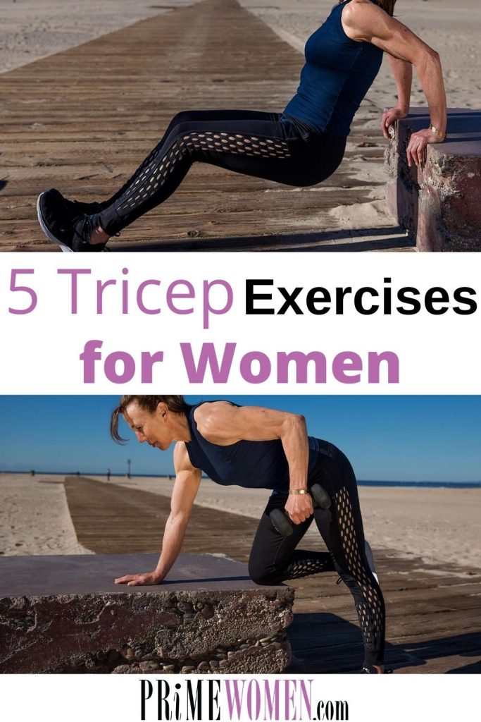 5 triceps exercises for women over 50