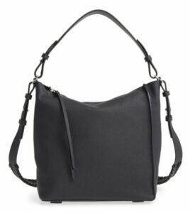 All Saints Kita Leather Shoulder/Crossbody Bag