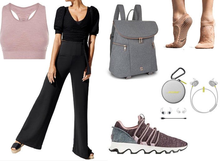 Athleisure with a ballet look