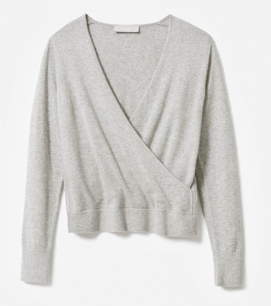 Everlane Cashmere Wrap Sweater