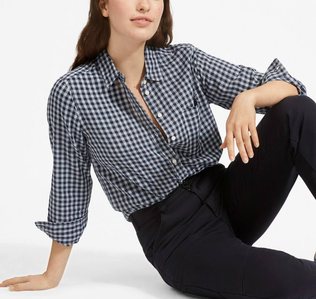Everlane The Shrunken Cotton Shirt