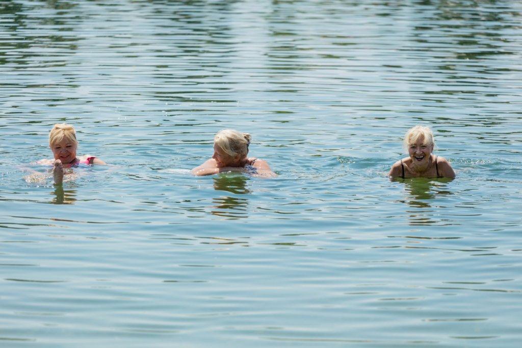 Friends in Open Water