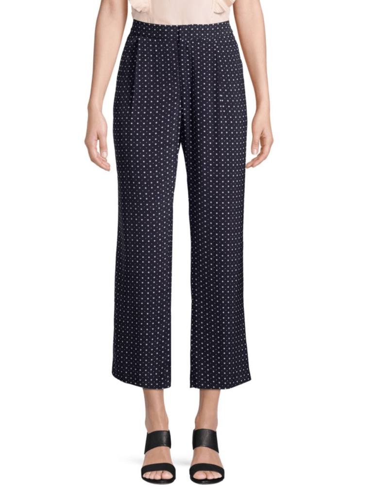 Joie Dicra Crop Polka Dot Pants