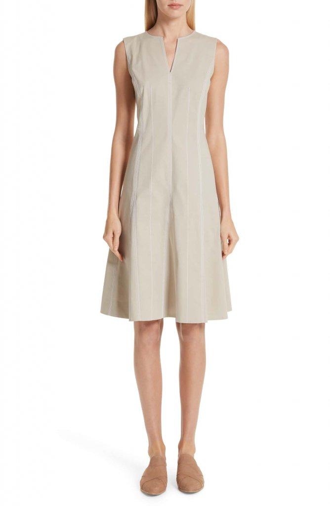 Lafayette 148 New York Rochelle Fit & Flare Dress