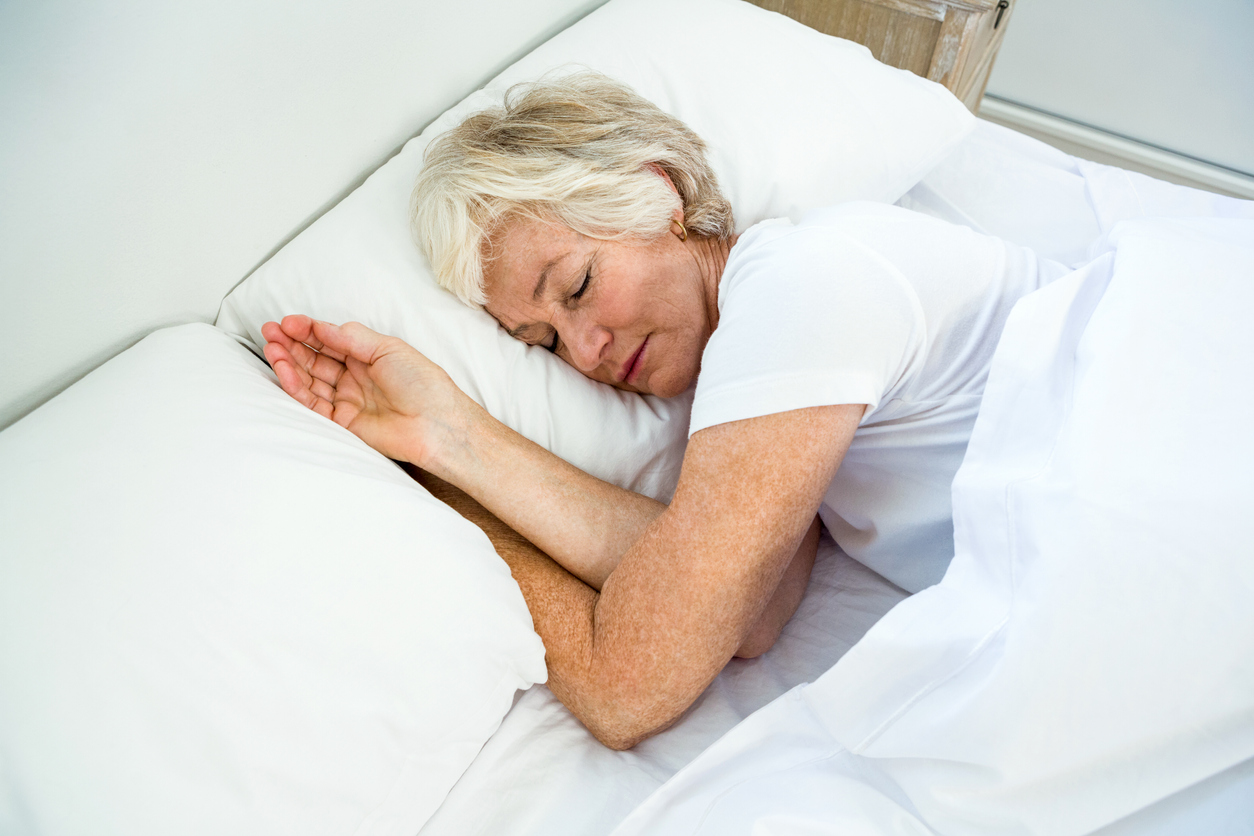 Mature sleeping women-9886