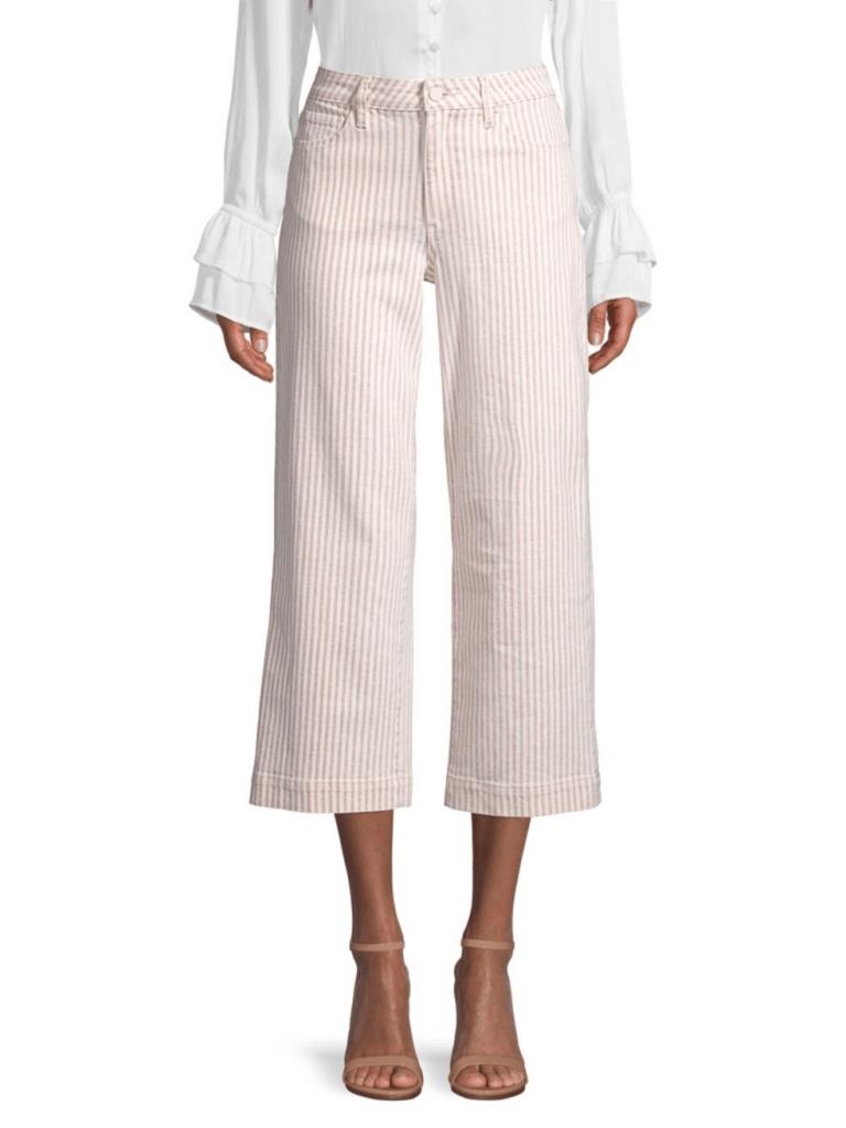 Paige Jeans Nellie Crop Stripe Culottes