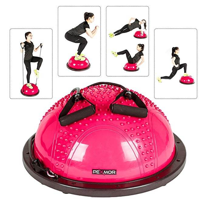 Pexmor Yoga Half Ball Home Exercise Kit