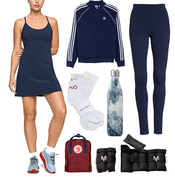 Power Walk in Park Athleisure Wear