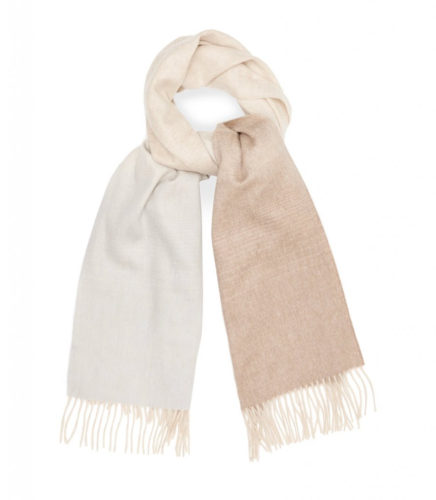 Sass Lambswool Cashmere Blend Scarf