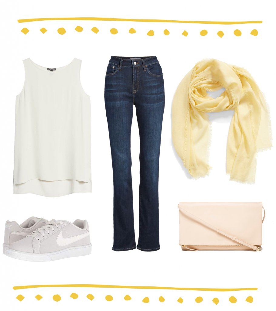 The Casual Look-Say Yellow Fashion Over 50
