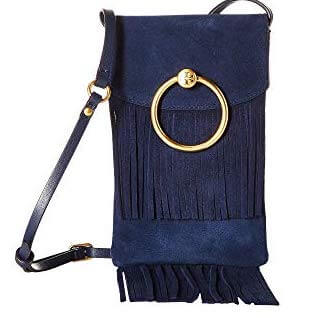 Tory Burch Farrah Fringe Phone Crossbody