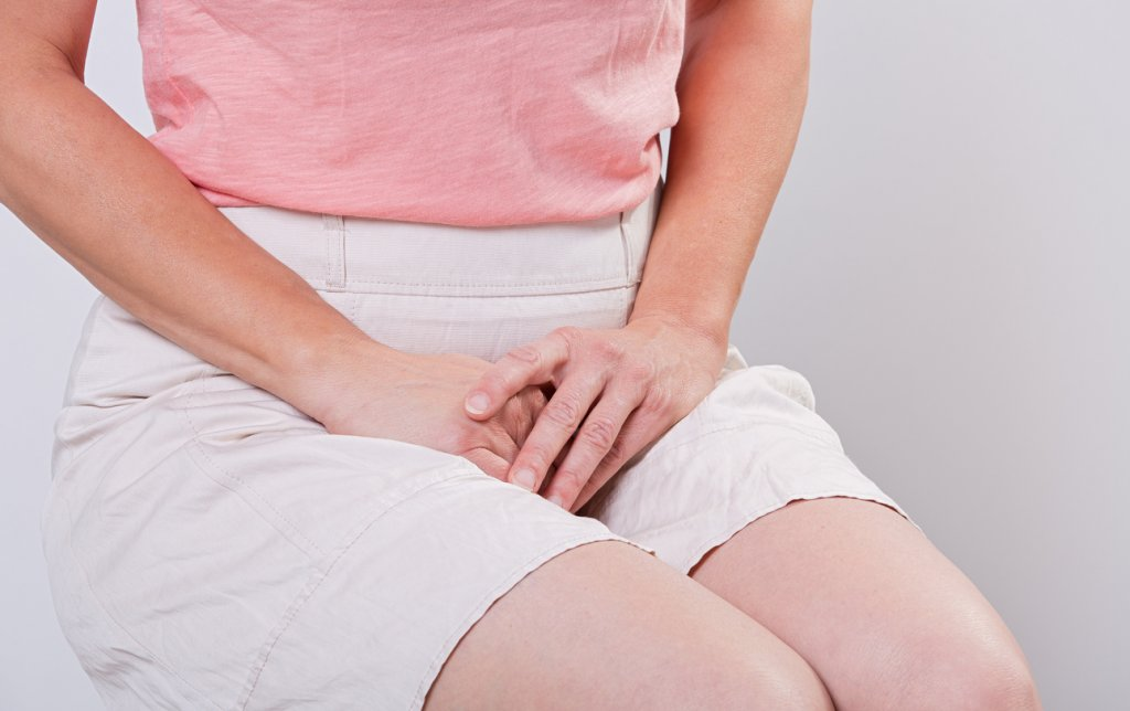Woman with Bladder Problem