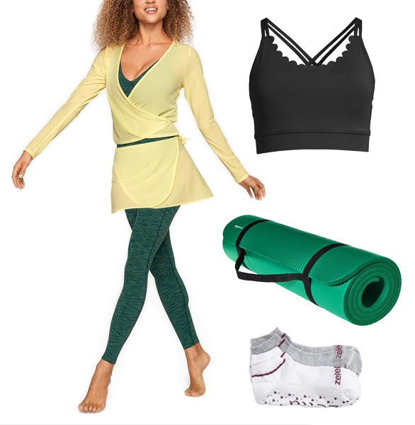 Yoga Class Look Athleisure Wear