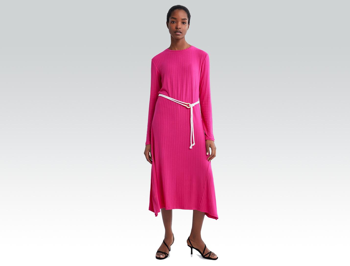 Zara fuchsia dress
