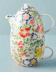 Anthropologie Annie Tea-For-One-Set