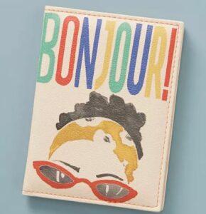 Bonjour Passport Holder