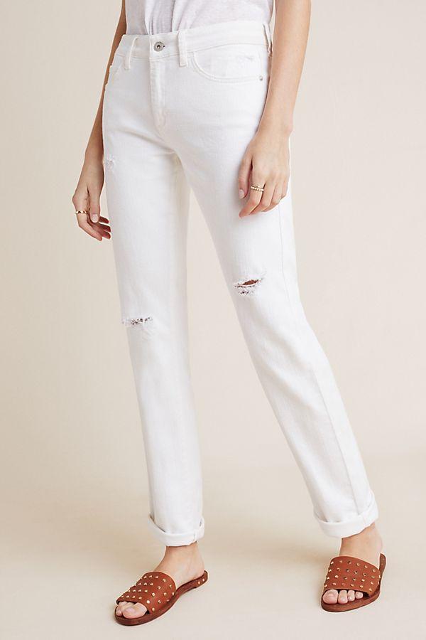 Anthropologie Pilcro Mid-Rise Slim Boyfriend Jeans