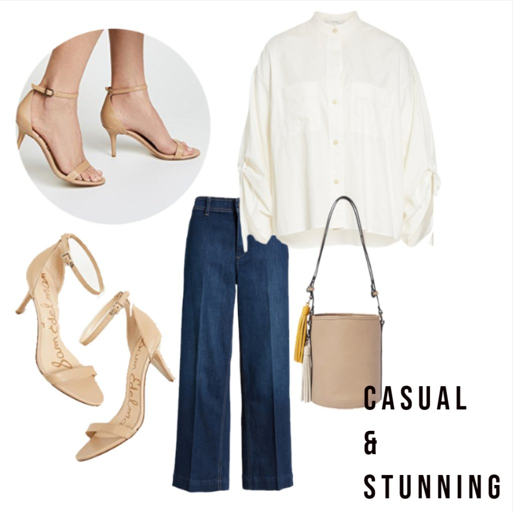 Casual Look with Naked Sandal