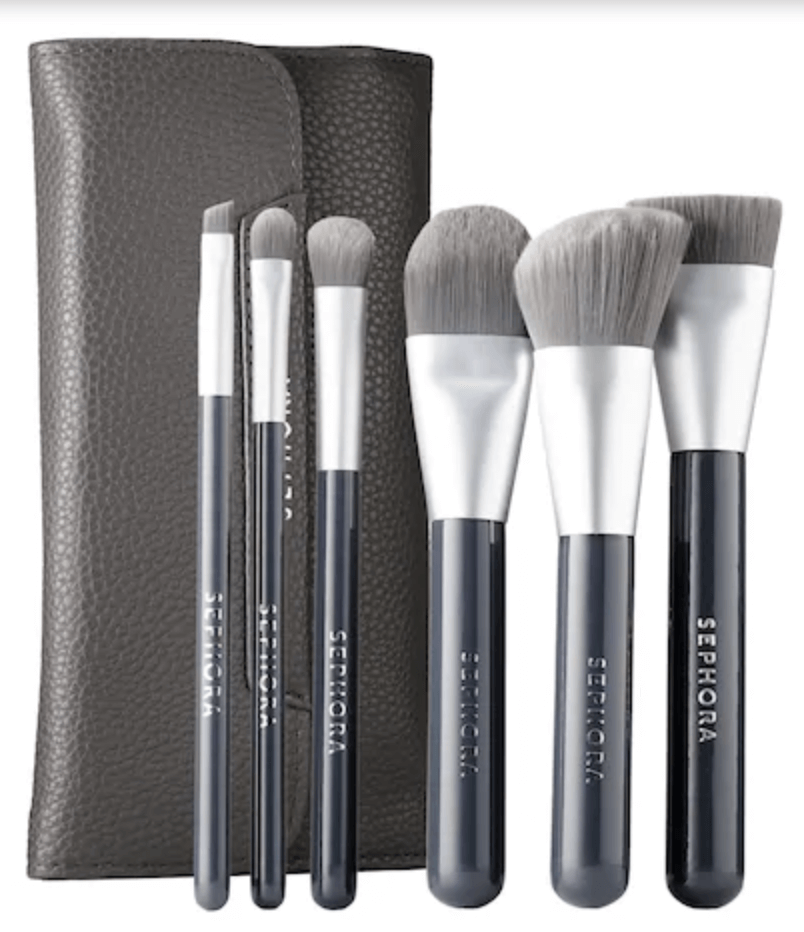 Sephora Collection Charcoal Infused Brushes