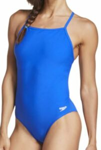 Speedo Women's The One Back Solid One Piece Swimsuit