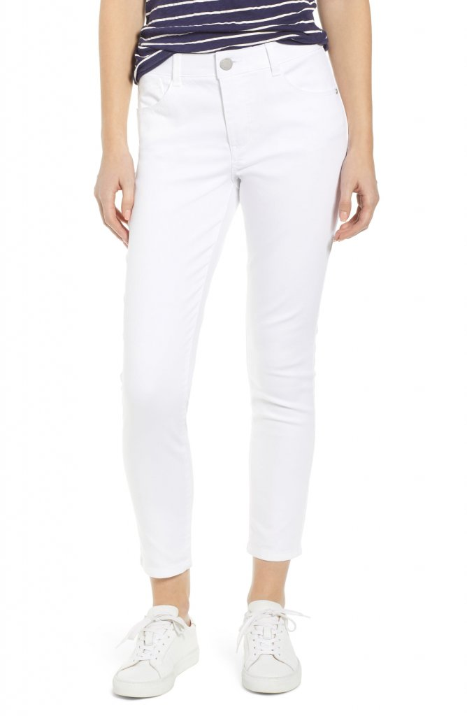 Wit and Wisdom Ab-Solution High Waist Ankle Skinny Jeans