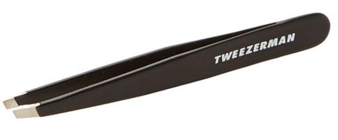 Tweezerman slant tweezers for bigger eyes