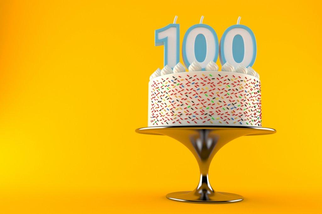 100 Year Life Birthday