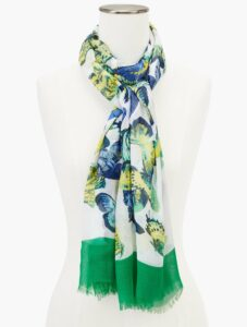 Gathering Butterfly Oblong Scarf
