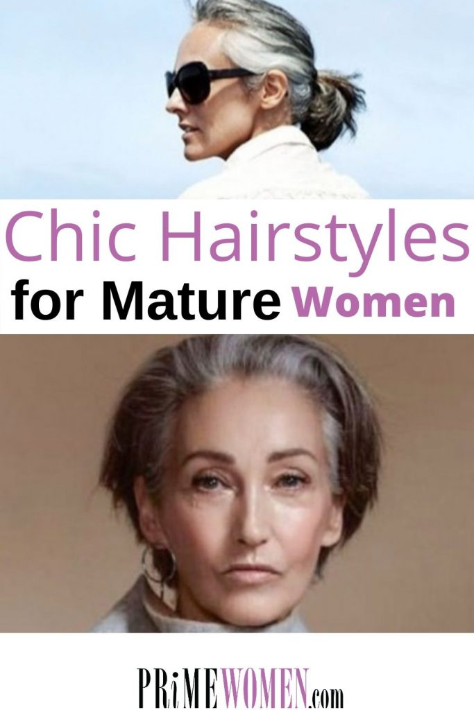 Chic Professional Hairstyles for Mature Women