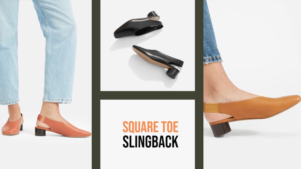 Everlane Square-toe Slingback