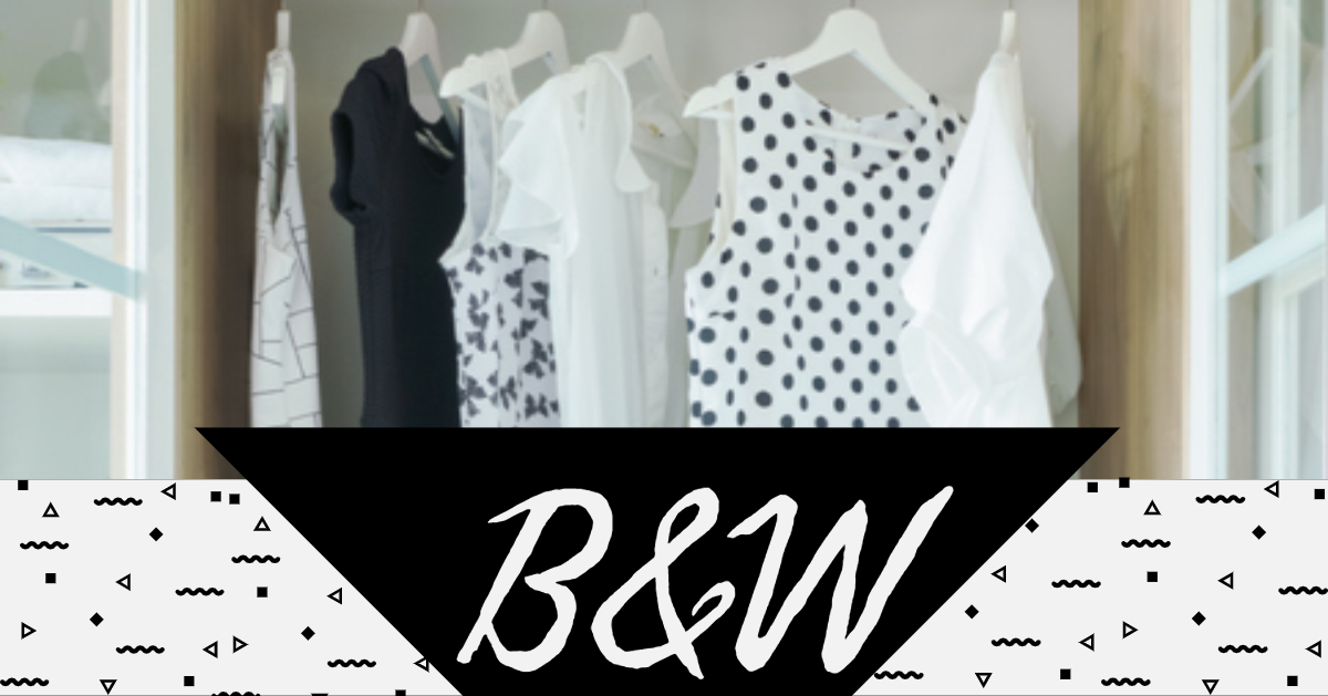 Charming Black and White Outfits