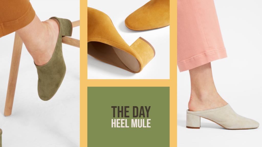 Everlane Day Heel Mule