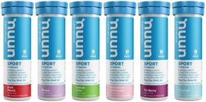 Stay hydrated with Nuun Electrolyte Drink Tablets