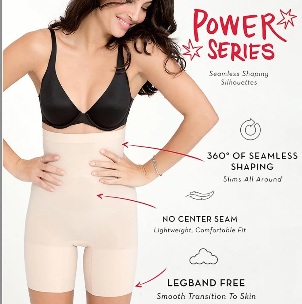 Spanx Power Short Shapewear Shorts
