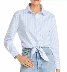 Tie Hem Shirt