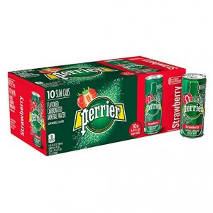 perrier cans-strawberry