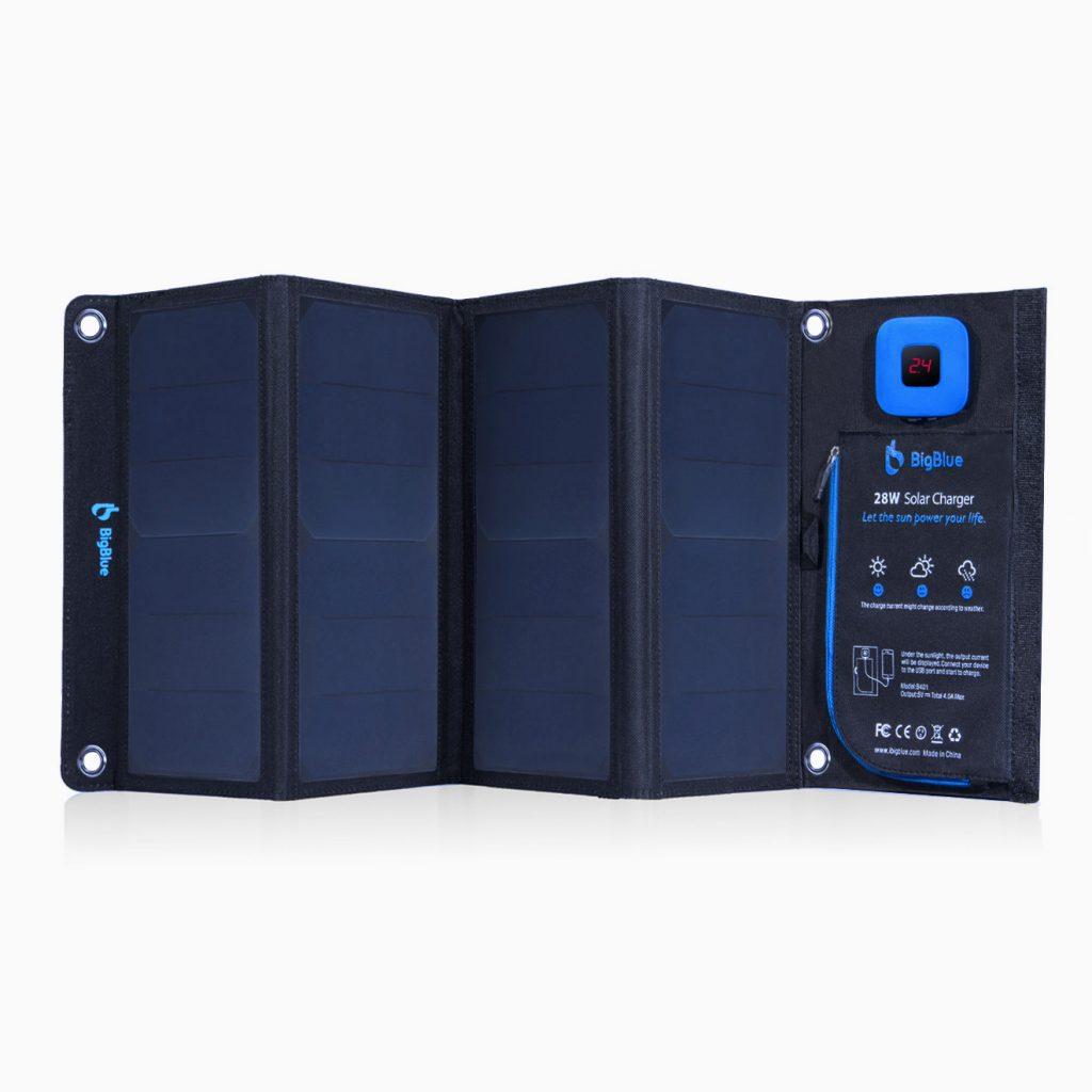 BigBlue 28W Solar Charging Bank