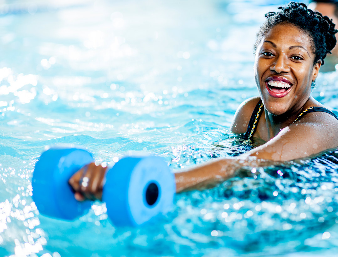pool weight for upper arm resistance water exercises