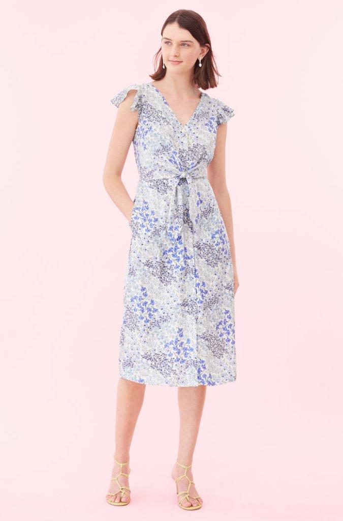 Rebecca Taylor Tie-Waise Dress