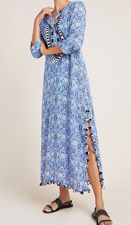 Roller Rabbit Selina Maxi Dress